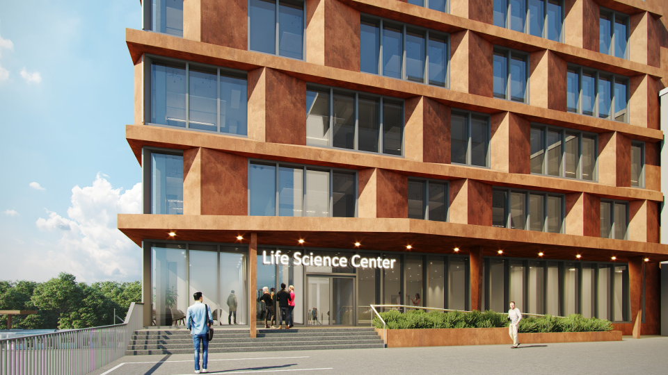 Life Science Center uudiskohde sisäänkäynti